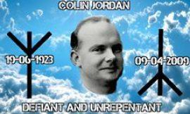 Colin Jordan – British NS pioneer